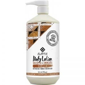 Alaffia Body Lotion Vanilla with Shea Butter and Lemongrass 950ml Dairy Free Store