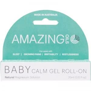 Amazing Oils Baby Magnesium Baby Calm Gel Roll-On 20ml Dairy Free Store
