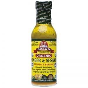 Bragg Dressing & Marinade Ginger and Sesame 354ml Dairy Free Store