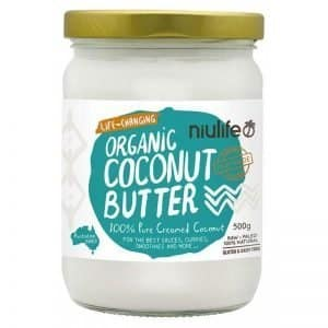 Niulife Organic Coconut Butter Pure Creamed Coconut 500g Dairy Free Store