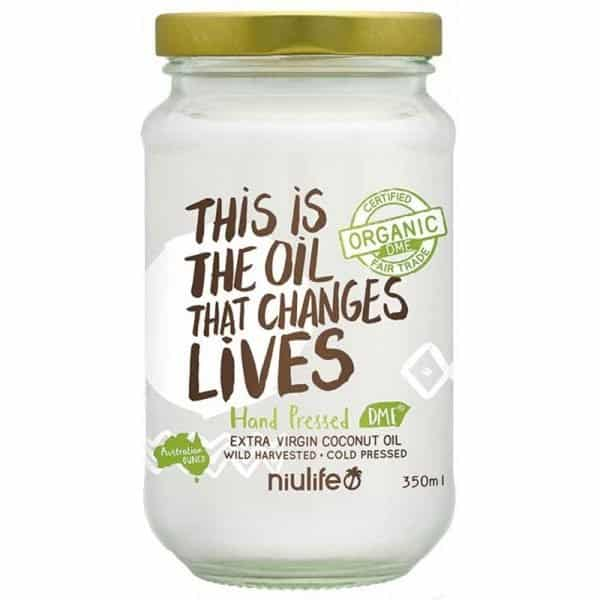 Niulife Hand Pressed Extra Virgin Coconut Oil 350ml Dairy Free Store