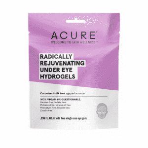 Acure Radically Rejuvenating Under Eye Hydrogels Dairy Free Store