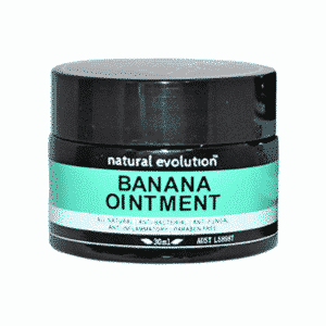 Natural Evolution Banana Ointment 30ml Dairy Free Store
