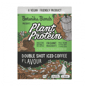 Botanika Blends Plant Protein Double Shot Iced Coffee 40g Dairy Free Store