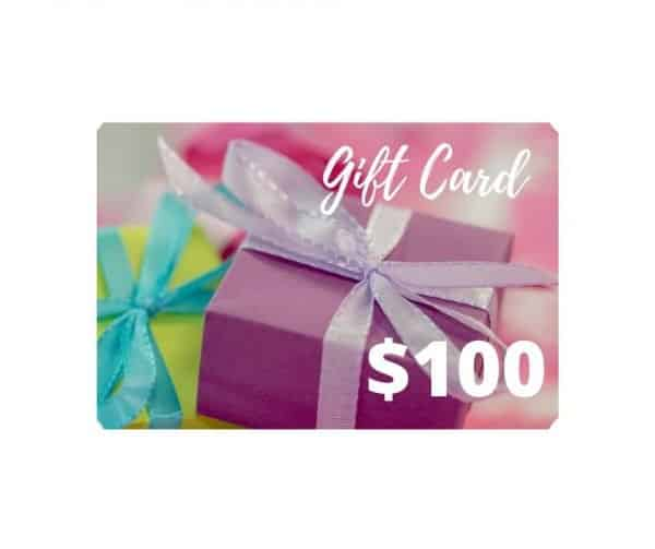 $100 gift card dairy free store