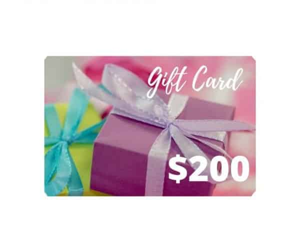 $200 gift card dairy free store
