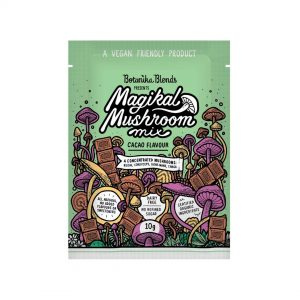 Botanika Blends Magikal Mushroom Mix Cacao Flavour sample size Dairy Free Store