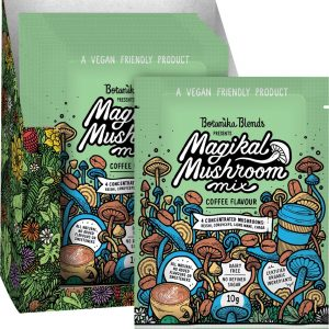 Botanika Blends Magikal Mushroom Mix Coffee Flavour 10g Dairy Free Store