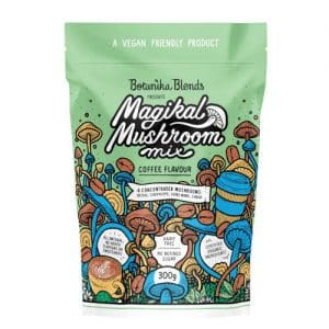 Botanika Blends Magikal Mushroom Mix Coffee Flavour 300g Dairy Free Store