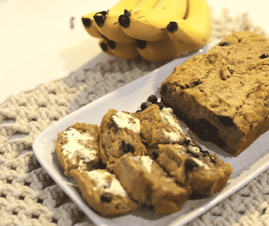 Dairy Free Store Gluten Free Banana Bread Feature Image