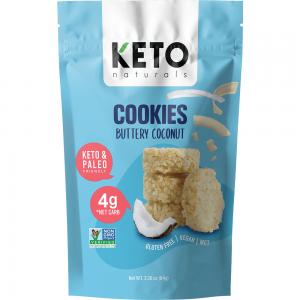 Keto Naturals Cookies Buttery Coconut Dairy Free Store
