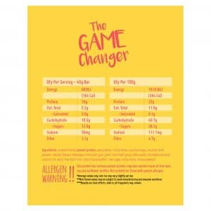 Macro Mike The Game Changer Cheezecale Choc Chip Peanut Snack Bar Dairy Free Store